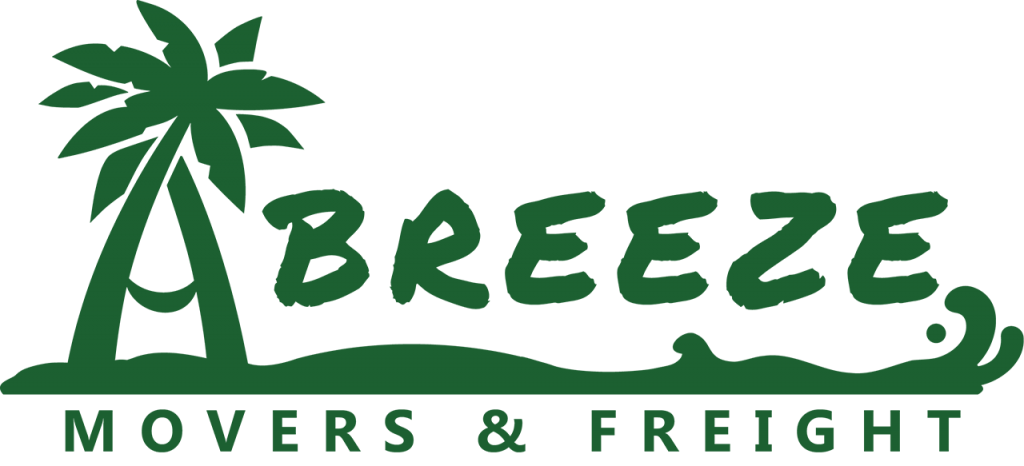 breeze movers and freight logo green